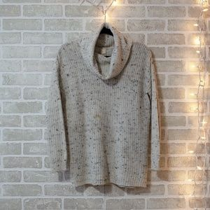 Wide Turtleneck Knitted Sweater